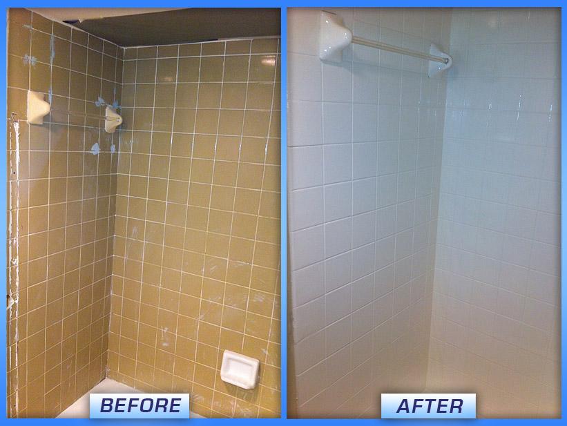 Tile & Shower Refinishing Pictures | Miami Bathtub Refinishing